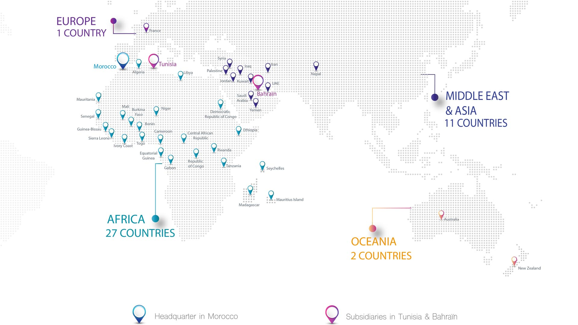 180 institutions around the world